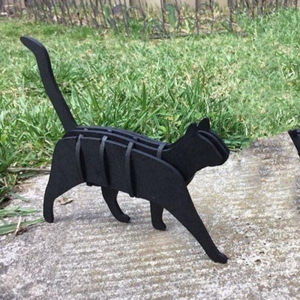 Gato 3D Montaje