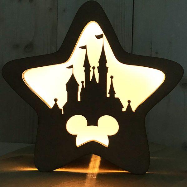 Frontal Magnético Lámpara Estrella – Mod: Castillo