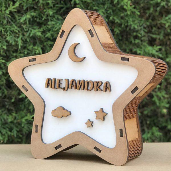 Lámpara Estrella LED Cielo Nocturno