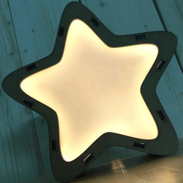 Lámpara Estrella LED Basic