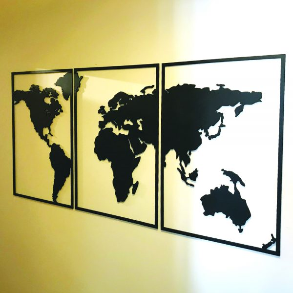 Mapa Mundi Triptico