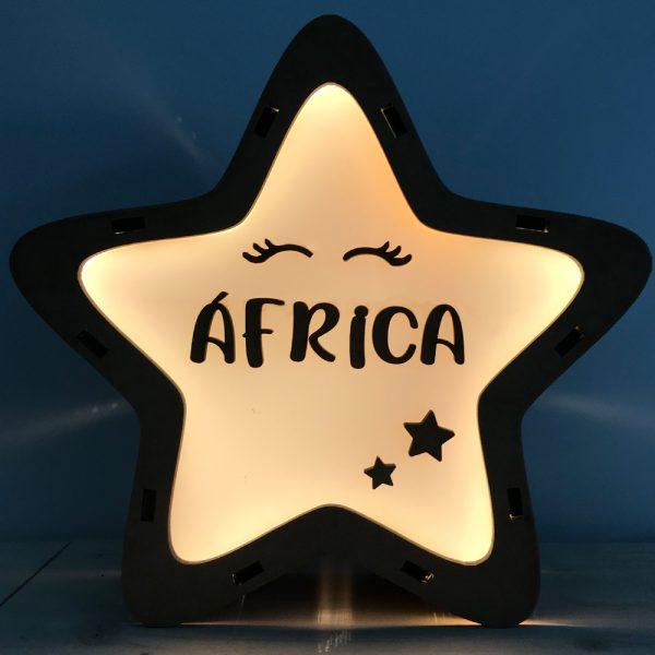 Lámpara Estrella LED Rimmel