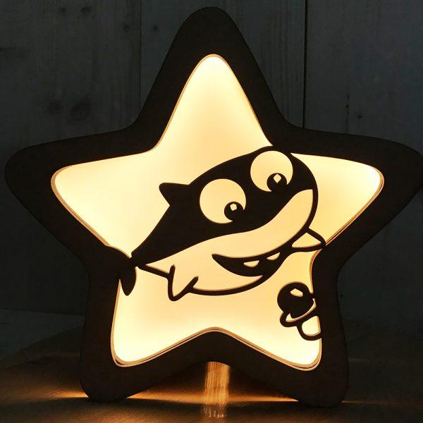 Frontal Magnético Lámpara Estrella – Mod: Cute Shark