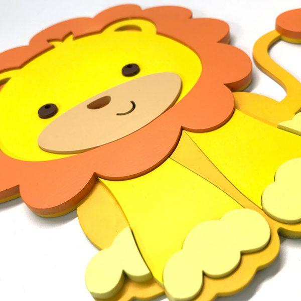 Placa decorativa – Rey de la Selva
