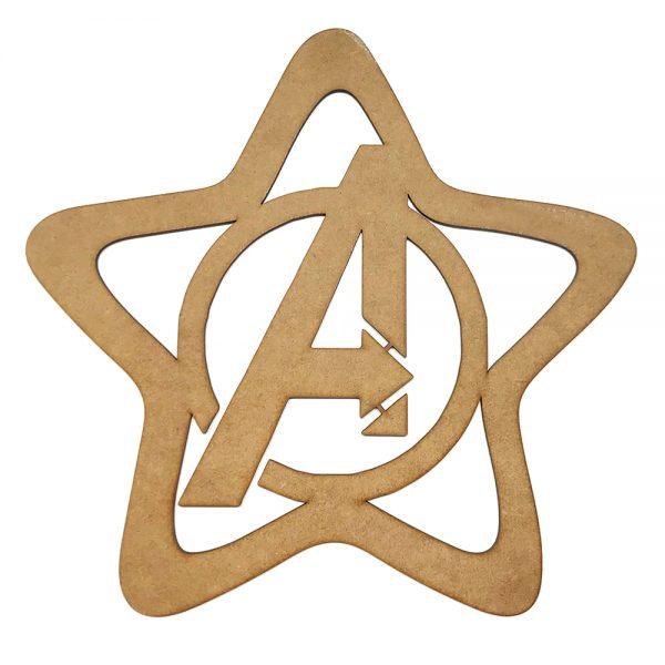 Frontal Magnético Lámpara Estrella – Mod: Avengers