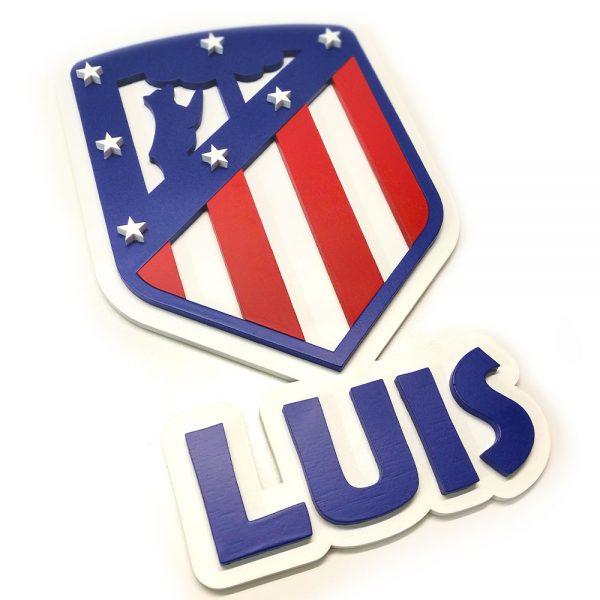 Escudo Atlético de Madrid – Personalizado.