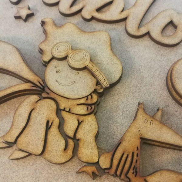 Placa decorativa – Principito