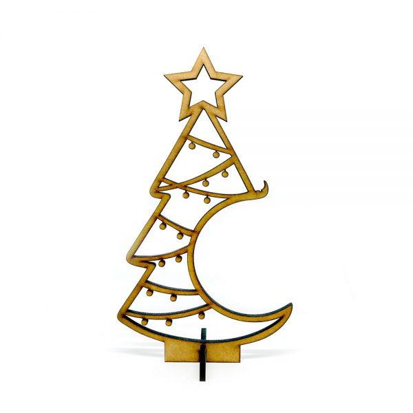Árbol de Navidad «Estrella» con colgador