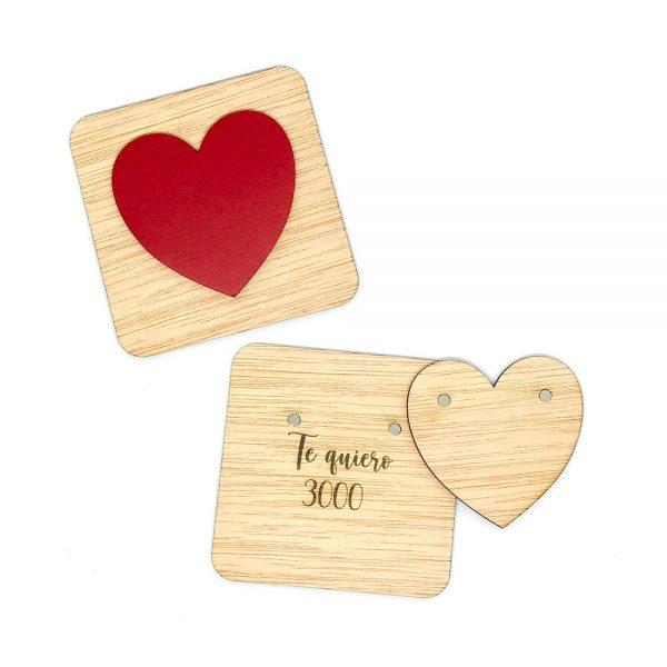 Pieza Scrabble Especial «Corazón-3000»