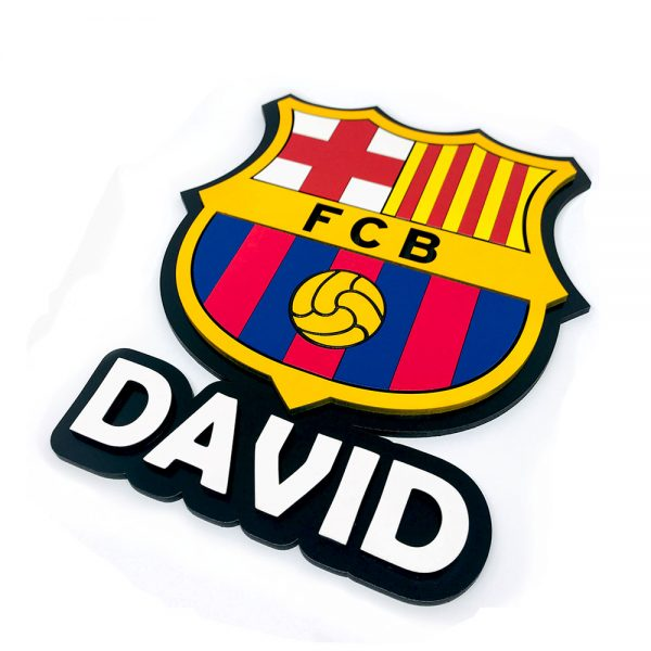 Escudo Barcelona – Personalizado (multicapa)