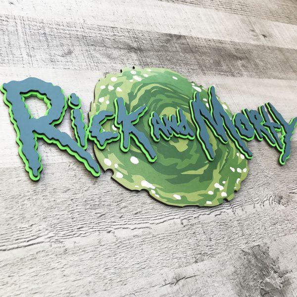 Logo Rick and Morty