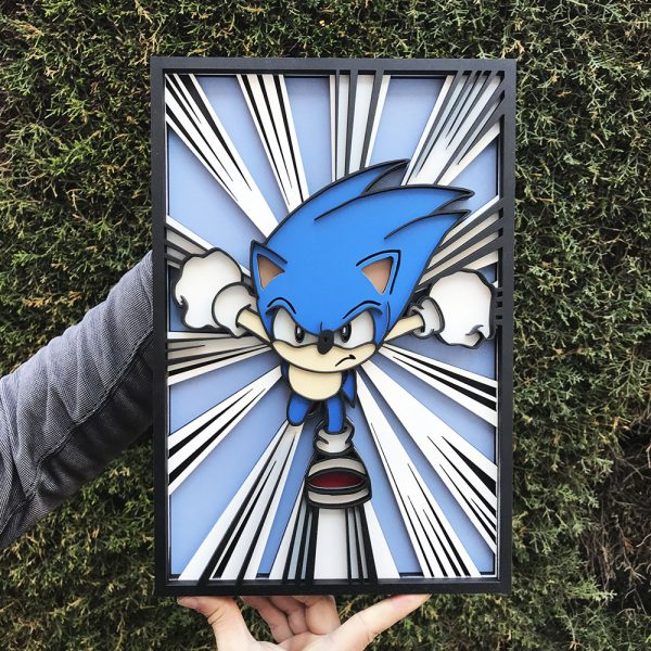 Layer Sonic The Hedgehog