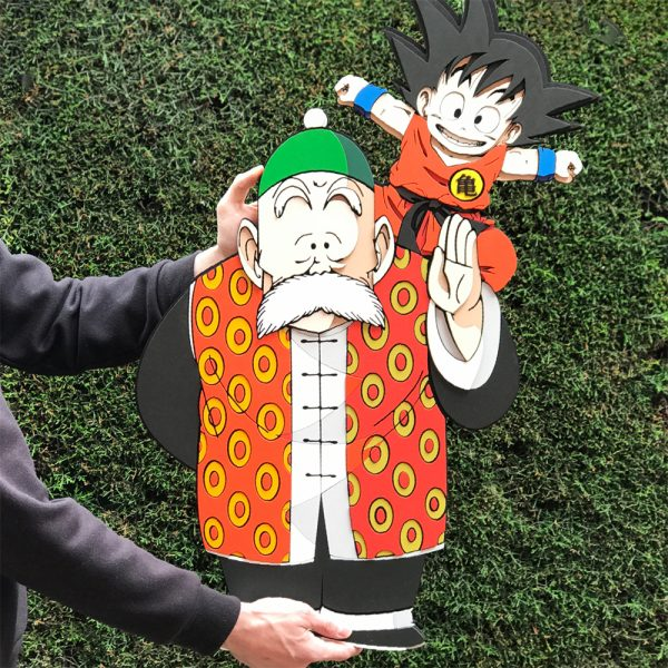 Maxi Goku y Abuelo