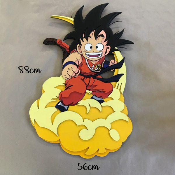 Maxi Goku en Nube Kinton